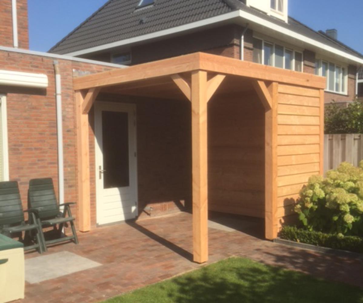 Houten tuinhuis veranda nr 10 interieurbouw - Interieur van een veranda ...