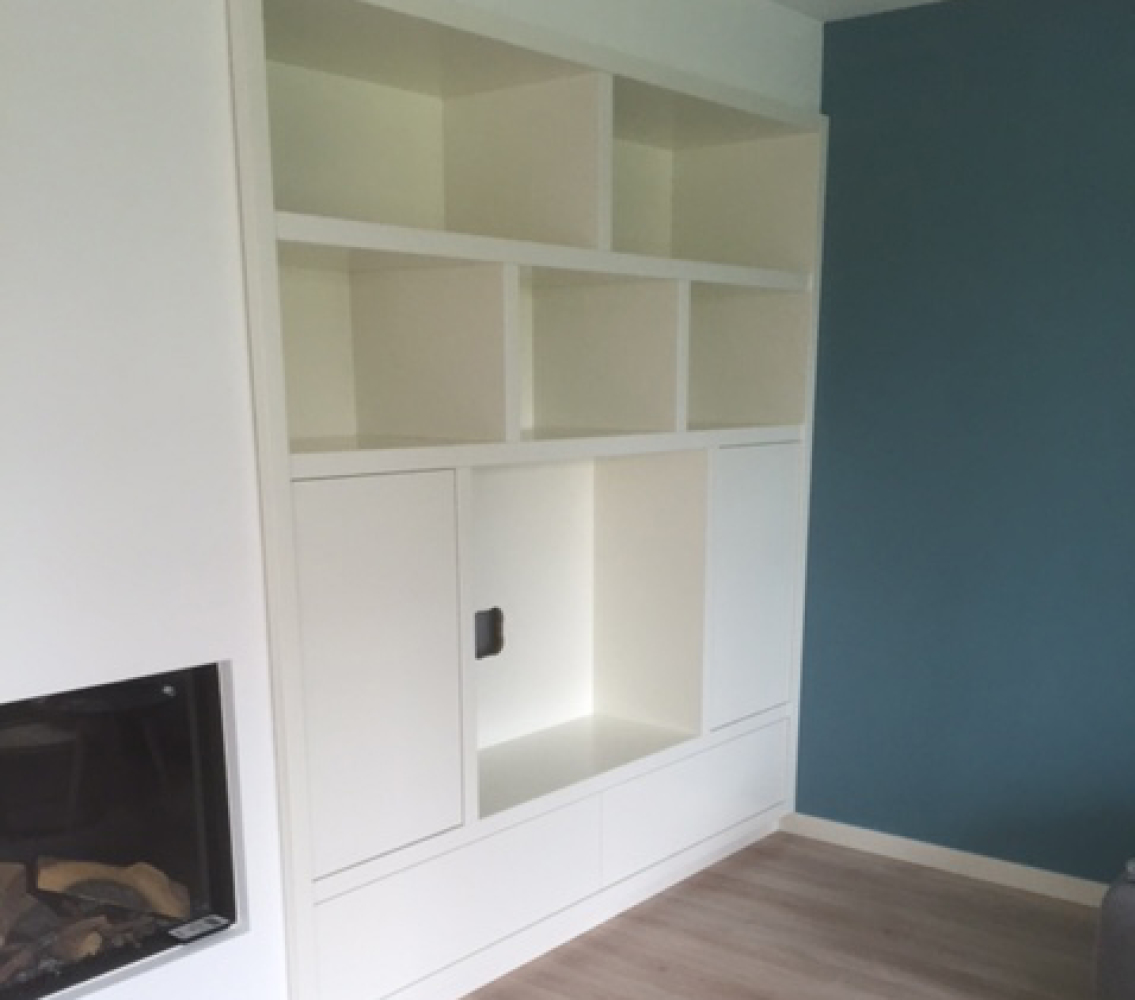 Inbouwkast voor woonkamer | NR. 10 Interieurbouw