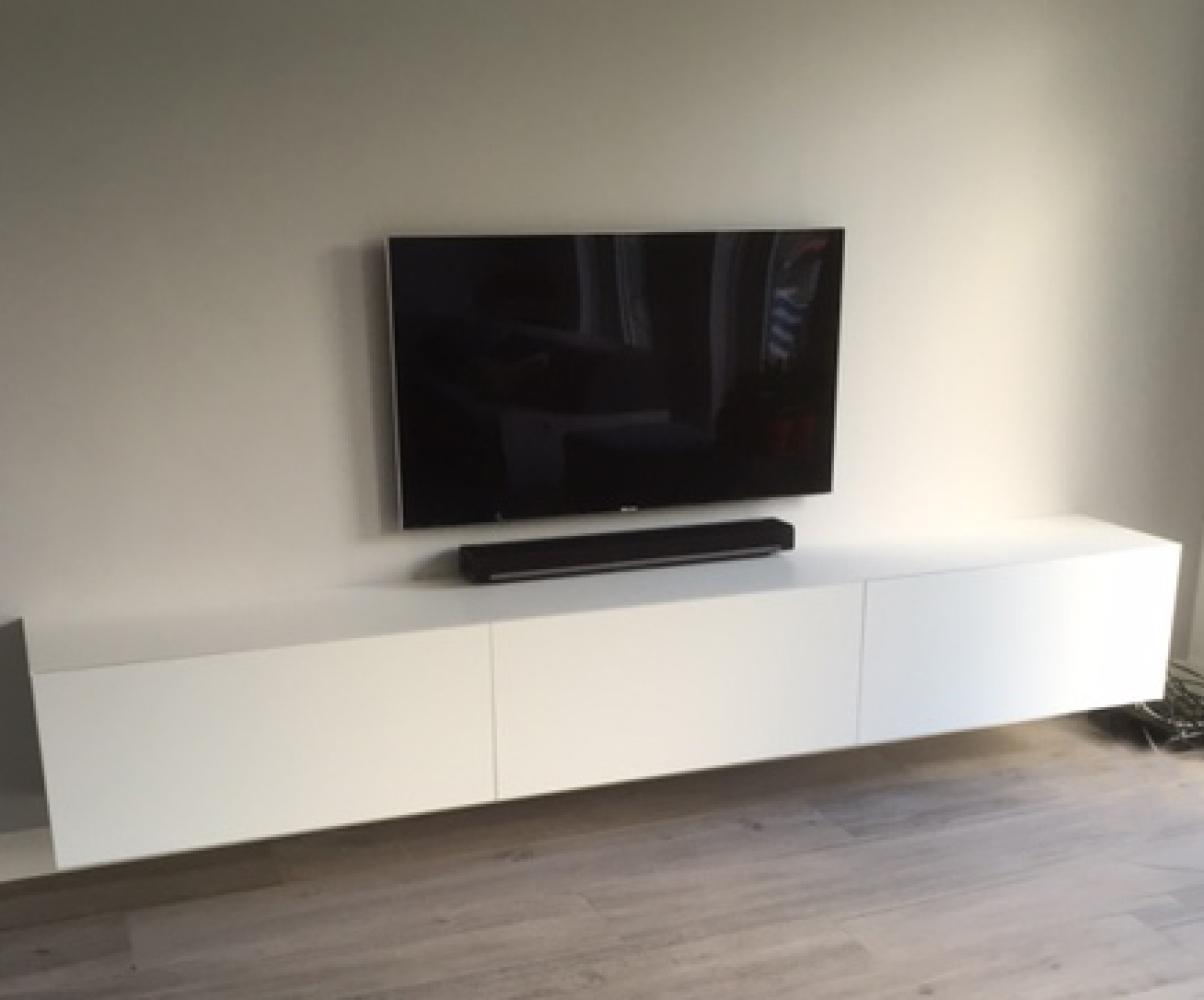 Zwevend Tv Meubel Nr 10 Interieurbouw